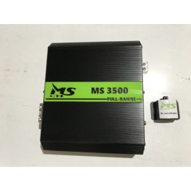 Amplificador MS Audio 3500.1 Full-Range